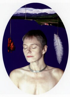 Siobhan Davies, by David Buckland - NPG P753