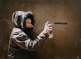 Banksy, by James Pfaff, 2003 - NPG x131404 - © James Pfaff