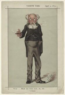 Anthony Trollope, by Sir Leslie Ward, published 5 April 1873 - NPG D32583 - © National Portrait Gallery, London