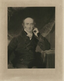 George Canning, by Charles Turner, after  Sir Thomas Lawrence - NPG D32584