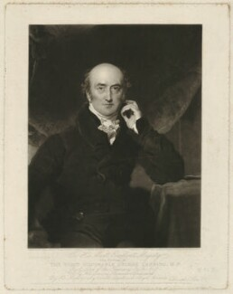 George Canning, by Charles Turner, after  Sir Thomas Lawrence - NPG D32585