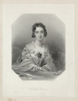 Charlotte Canning (née Stuart), Countess Canning, by William Henry Egleton, after  John Hayter - NPG D32589