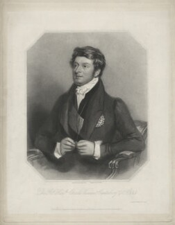 Charles Manners Sutton, 1st Viscount Canterbury, by Henry Bryan Hall, after  Alfred Edward Chalon - NPG D32592