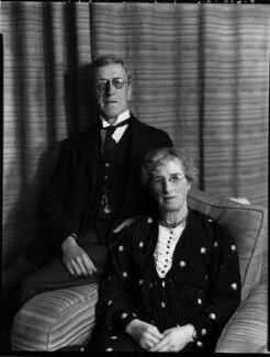 Josiah Alfred Hanan; Susanna Hanan (née Murray), by Bassano Ltd - NPG x152657