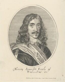 Henry Somerset, 1st Duke of Beaufort, after Unknown artist, published by  William Richardson - NPG D29474