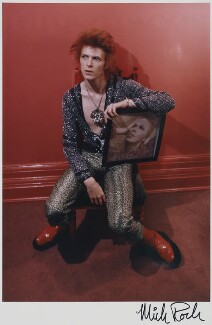 David Bowie, by Mick Rock - NPG P755