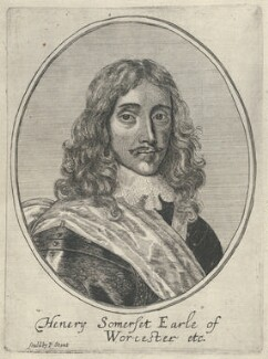 Henry Somerset, 1st Duke of Beaufort, possibly by Richard Gaywood, published by  Peter Stent - NPG D29476