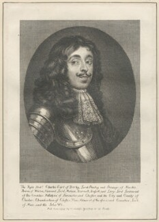 Charles Stanley, 8th Earl of Derby, after Unknown artist, published by  William Richardson - NPG D29478