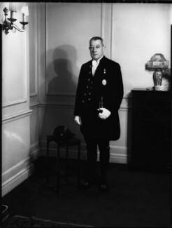 Sir Henry Milne Scott, by Bassano Ltd - NPG x152664