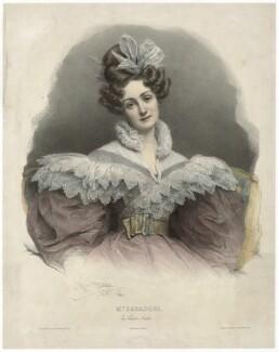 Maria Caterina Rosalbina Caradori-Allan, by Henri Grevedon, 1831 - NPG D32598 - © National Portrait Gallery, London