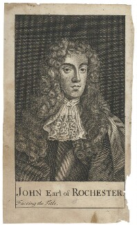 John Wilmot, 2nd Earl of Rochester, after Sir Peter Lely - NPG D29491