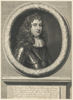 Edward Montagu, 1st Earl of Sandwich, by Abraham Blooteling (Bloteling), after  Sir Peter Lely - NPG D29492