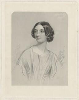 Mary Carew (née Cornewall), by Joseph Brown, after  John Hayter - NPG D32604