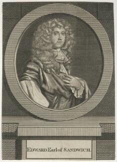 Edward Montagu, 2nd Earl of Sandwich, after Sir Peter Lely - NPG D29497