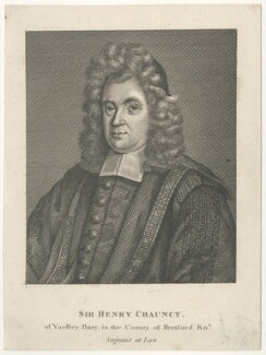 Sir Henry Chauncy, after Unknown artist - NPG D29508