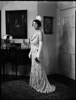 Christina (née Stenhouse), Lady Gardiner, by Bassano Ltd - NPG x152683