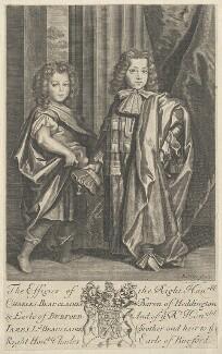 Charles Beauclerk, 1st Duke of St Albans; James Beauclerk, by Robert White - NPG D29518