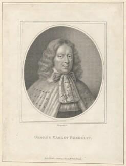 George Berkeley, 1st Earl of Berkeley, by E. Bocquet, published by  John Scott - NPG D29519