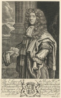 Thomas Belasyse, 1st Earl Fauconberg, by Robert White, after  Unknown artist - NPG D29520