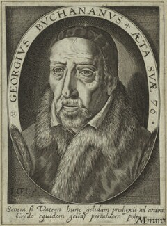 George Buchanan, by Jacques Grandhomme (Granthomme), after  Unknown artist - NPG D32610