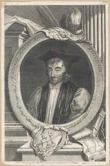 George Morley, by George Vertue, after  Sir Peter Lely - NPG D29529
