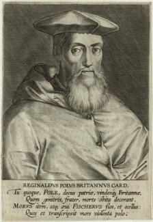 Reginald Pole, after Magdalena de Passe, and after  Willem de Passe - NPG D32616