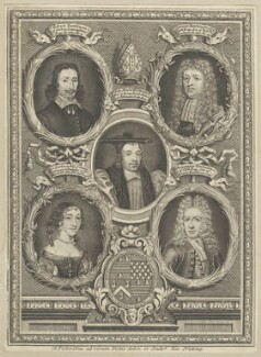 Nicholas Monck and the Rawlinson Family, by Joseph Nutting - NPG D29541