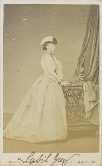 Sybil Mary (née Grey), Duchess of St Albans, by (Cornelius) Jabez Hughes - NPG Ax68095