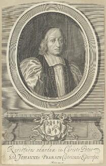 John Pearson, by William Elder, after  David Loggan - NPG D29564