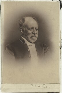 Sir Frederick Alexis Eaton, by Unknown photographer, circa 1890s - NPG x14308 - © National Portrait Gallery, London