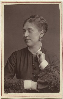 Amy Roselle (Mrs Arthur Dacre), by Unknown photographer - NPG Ax7627