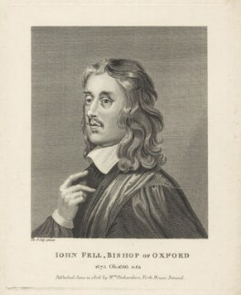 John Fell, after Sir Peter Lely, published by  William Richardson - NPG D29570