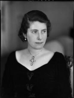 Hon. Esther Constance Kunz (née Waldegrave), by Bassano Ltd - NPG x37136