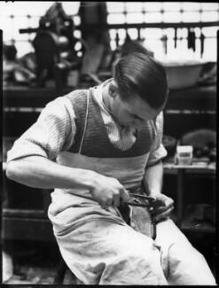 Alan McAfee Shoemakers Ltd, by Bassano Ltd - NPG x37429