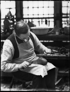 Alan McAfee Shoemakers Ltd, by Bassano Ltd - NPG x37431