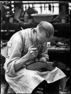 Alan McAfee Shoemakers Ltd, by Bassano Ltd - NPG x37432