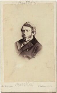 John Ruskin, by Leonida Caldesi - NPG x12957