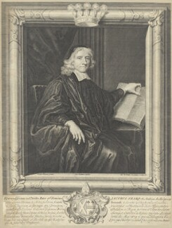 James Sharp, by George Vertue, after  Sir Peter Lely - NPG D29575