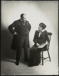 Edmund Gwenn; Irene Vanbrugh, by Bassano Ltd - NPG x152712