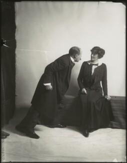 Edmund Gwenn; Irene Vanbrugh, by Bassano Ltd - NPG x152714
