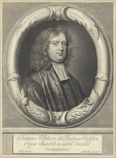 John Tillotson, by Abraham Blooteling (Bloteling), after  Sir Peter Lely - NPG D29582