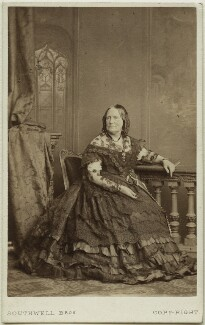 Agnes Strickland, by Southwell Brothers - NPG Ax7547