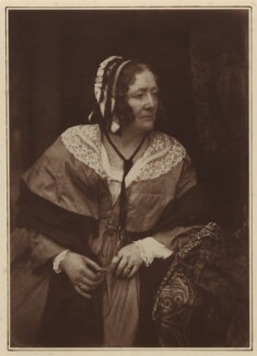 Anna Brownell Jameson (née Murphy), by David Octavius Hill, and  Robert Adamson - NPG x15274