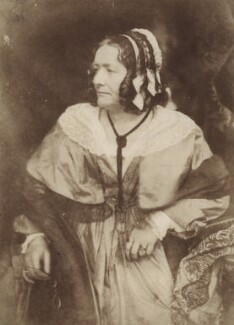 Anna Brownell Jameson (née Murphy), by David Octavius Hill, and  Robert Adamson - NPG x26045