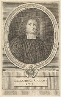 Benjamin Calamy, by Michael Vandergucht - NPG D29598