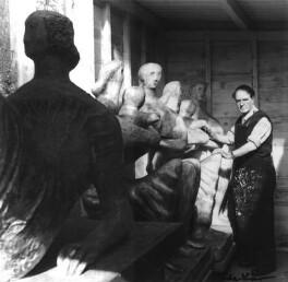 Henry Moore, by Ida Kar - NPG x13791