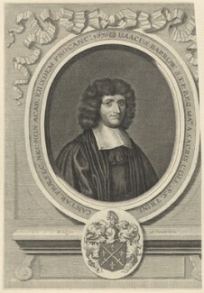 Isaac Barrow, by David Loggan, published by  Brabazon Aylmer - NPG D29615