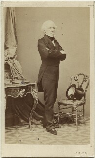 Joseph Calasanza, Ritter von Arneth, by Ludwig Angerer, circa 1861 - NPG Ax5055 - © National Portrait Gallery, London