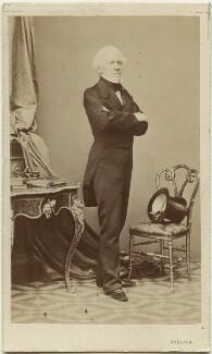 Joseph Calasanza, Ritter von Arneth, by Ludwig Angerer, circa 1861 - NPG Ax5055 - © National Portrait Gallery, London