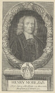 Henry More, by Michael Vandergucht, after  David Loggan - NPG D29622